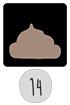 14. Tjocktarmen - Bajskomponenter